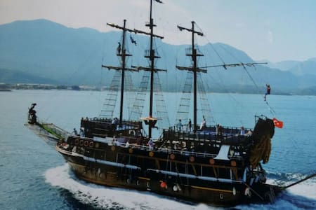 korsan teknesi (piraten daily tour) - Kemer