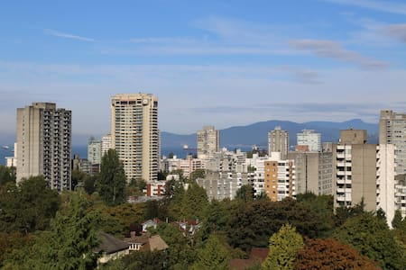 Ocean and sunset view in the heart of Vancouver - Vancouver - Appartement