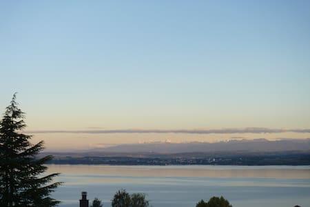 Wonderful lake view, countryside! - Vaumarcus - Appartement