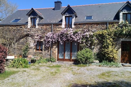 Chene Cottage, Pluherlin near Rochefort-en-Terre - Hus