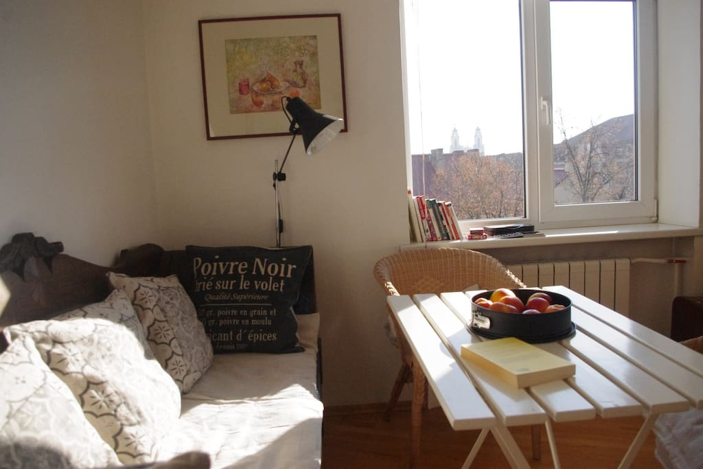 Airy town center apartment 2bedroom