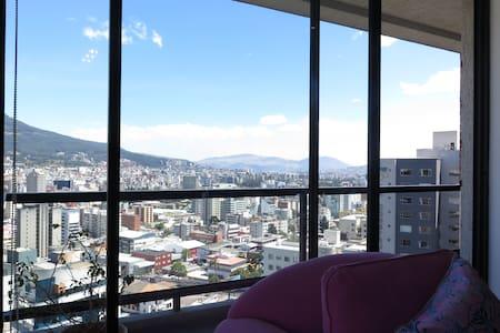 Moderno Apt en la Floresta - Quito - Appartement