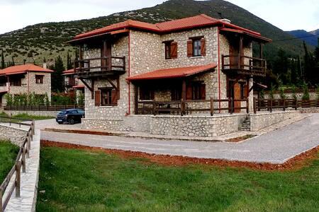 Πετρόχτιστη μεζονέτα με κήπο - Hus