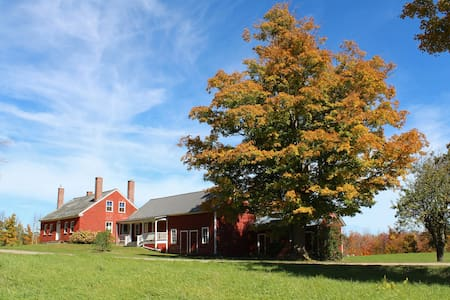 The 1799 Amos Brown farmstead - Hus