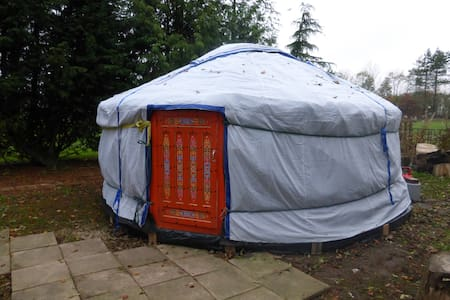 Mongolian Yurt with Heated bathroom