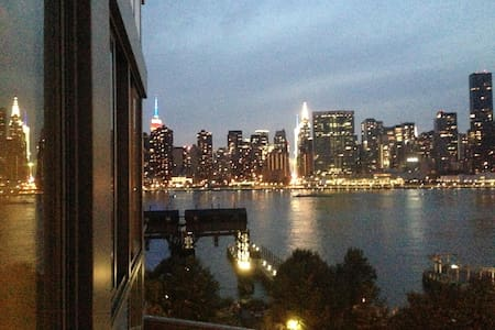1BR+great views/easy commute/washer - LIC - Apartment