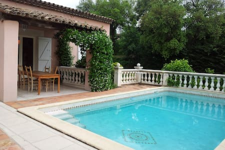 2 bedrooms and 1 bathroom, 10 minutes of Cannes - La Roquette-sur-Siagne - House