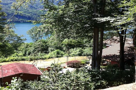"""Villa lago Orta """"Casa nel Verde"""" 4p - Pettenasco"""