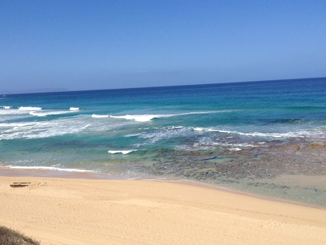 Ride the bikes to this beach!