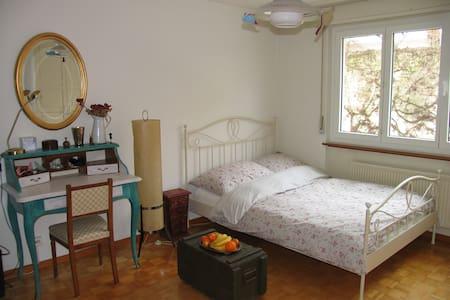 Magnifique chambre à Neuchâtel - Apartemen