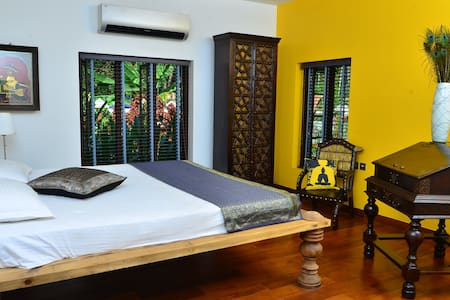 Luxury room in Kerala - Szoba reggelivel