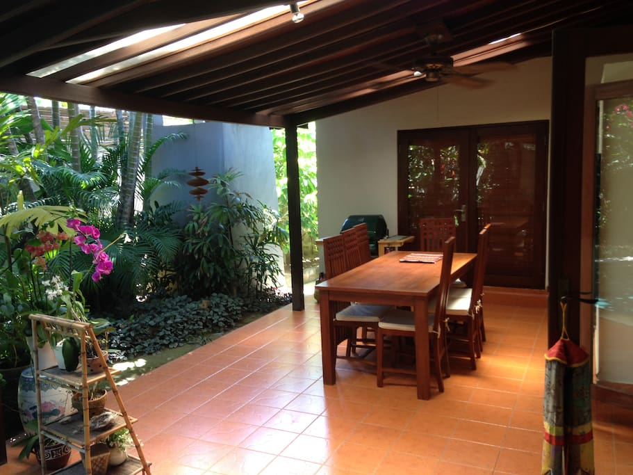 Dining Area by the Pool