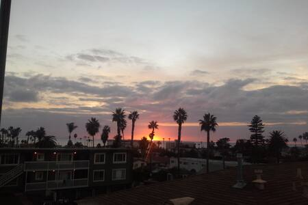 SanDiego OB view Marvelous Sunset