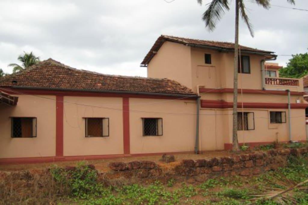 Romantic Sea-View Villa Anjuna Goa