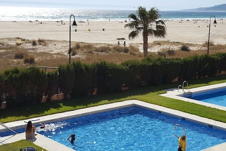 BEACHFRONT DÚPLEX- Playa los Lances - Wohnung