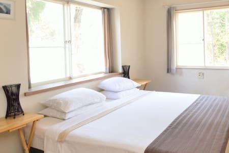 New owner! Family connecting Rm 4 persons en-suite - Hakuba - Bed & Breakfast
