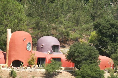 Charming and Unusual Iconic Flintstone House - Casa