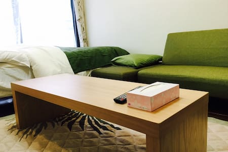 Osaka★Doutonbori 10min vv ★心斎橋 5min  Guest Lounge! - Apartment