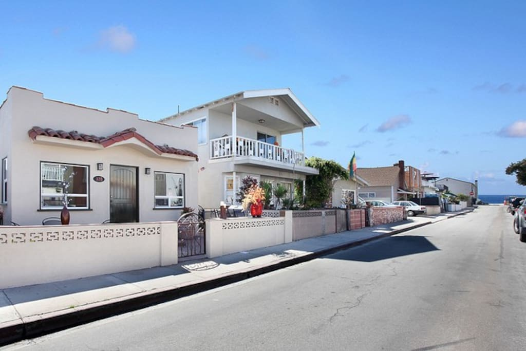 Street View of 128 39th Street - Just 8 Houses to the Sand!