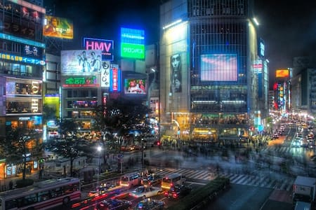 Short walk or train to Shibuya!
