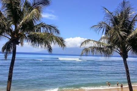 OCEANFRONT with an awesome view! - Lahaina