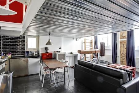 Le Cube - Loft atypique du Marais - Paris