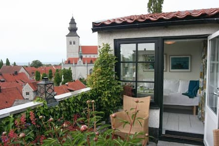Visby, charming house in the town - House