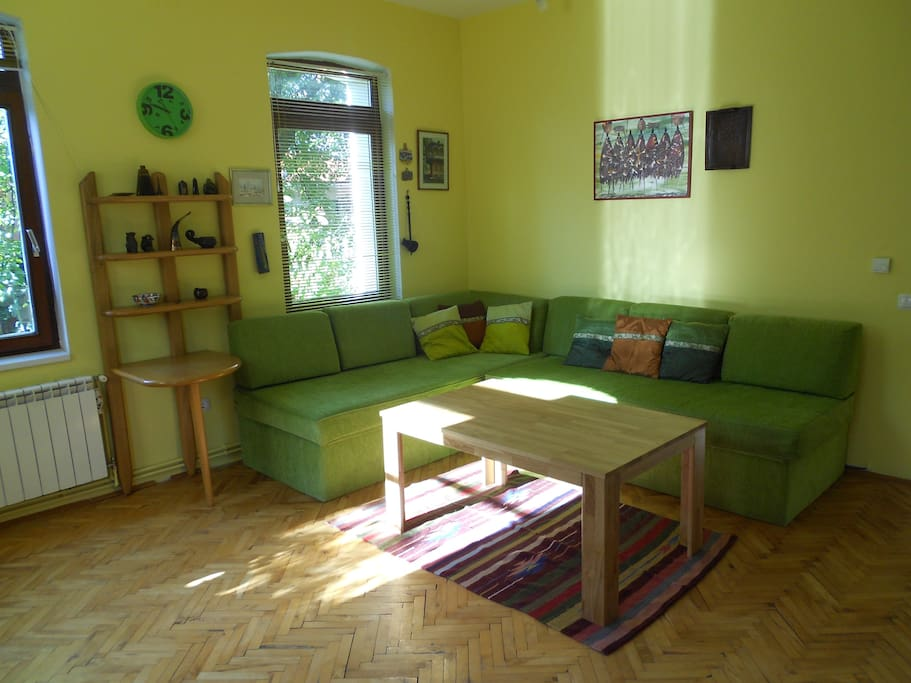 Sunny and spacious living room
