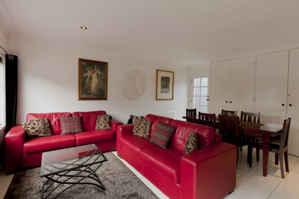 This spacious property offers 2 separate living areas