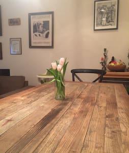 Cozy home on prime brownstone block