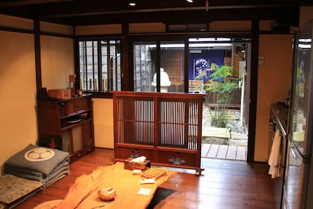 The old Japanese traditional house room1 - Hida