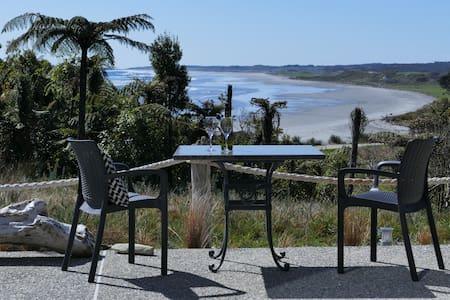 Beautiful views of the Tasman sea