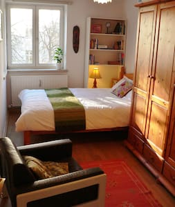 Light & cosy room in Schwabing - Munich - Apartemen