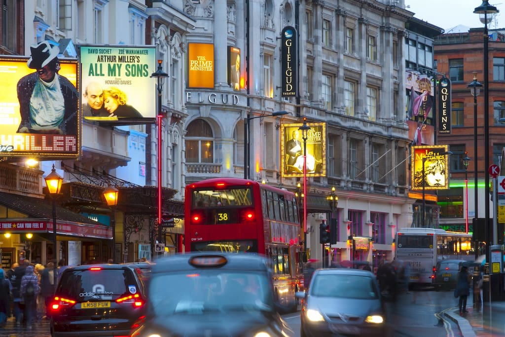 Theaterland - Shaftesbury Avenue (about 1min walk)