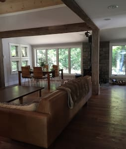 Lux modern home in the woods w spa - Jim Thorpe