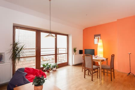 Apartment with a beautiful view - Prague - Loft