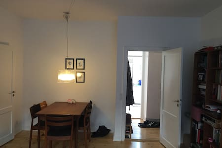 Family friendly appartment, 4 km from City Hall - Frederiksberg - Apartment