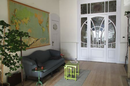 Authentiek, gezellig appartement in het centrum - Flat
