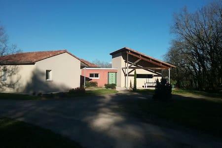 Grande maison familiale et moderne - Haus