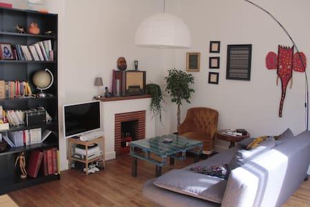 Chambre agréable en plein coeur du centre ville - Rennes - Lejlighed