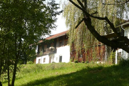Romantische Wohnung auf altem Hof - Haus