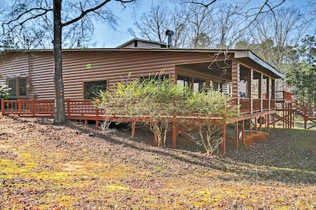 3BR Lincolnton House w/Lake Access - Casa