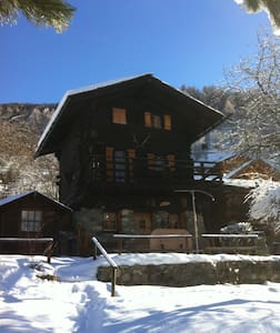 Charmant chalet val d'Anniviers - Ayer - Dom