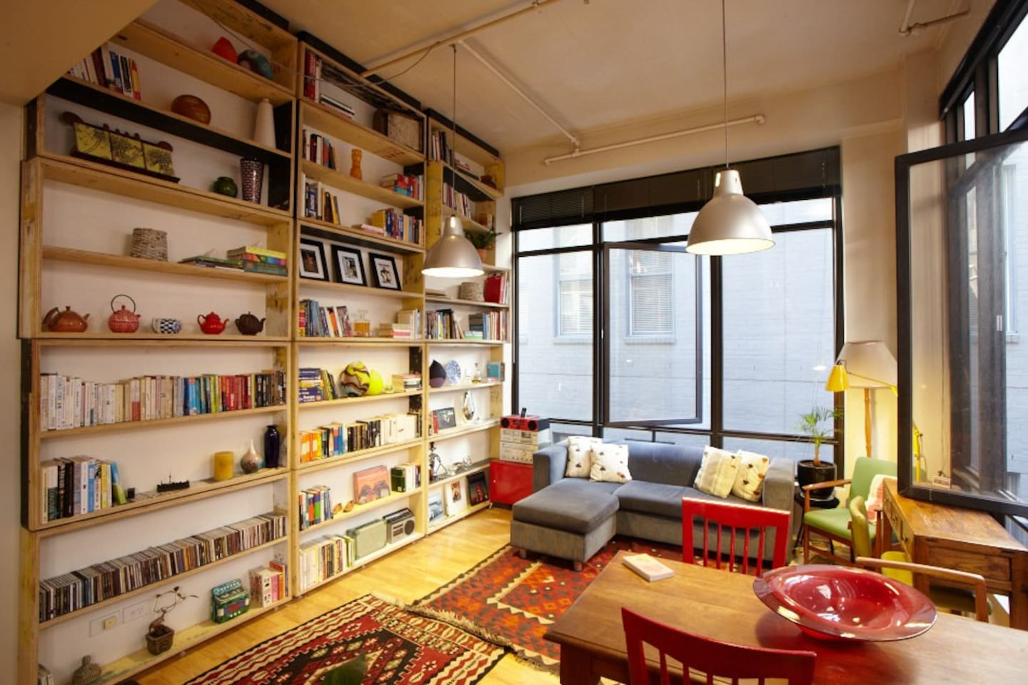 Check out the cool rotating library recently featured in the LA Times! Check the next photo...