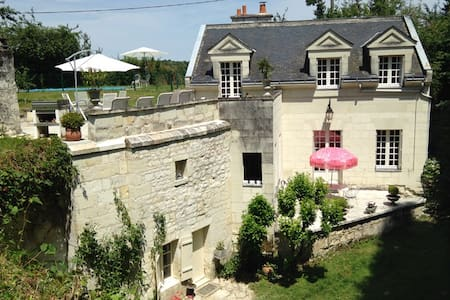 Lovely Loirehouse very private - House