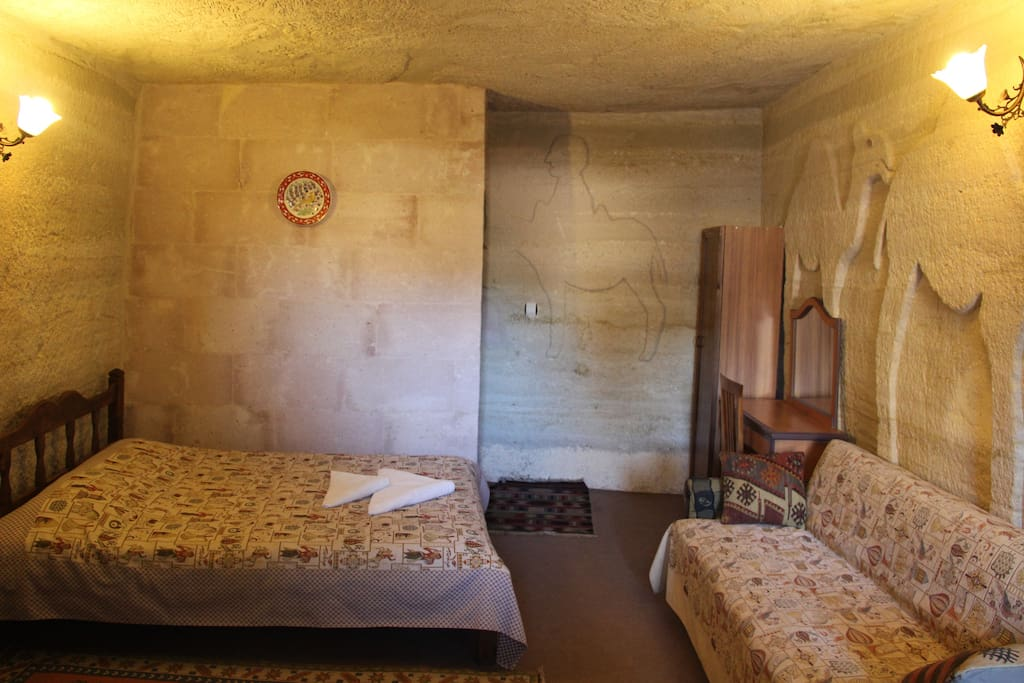 Cave double room