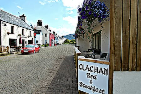 A Double Room (Rm 1) at Clachan B&B - Bed & Breakfast