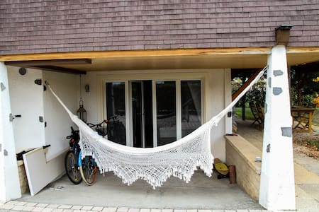 Cozy flat close to the lake - Rumah