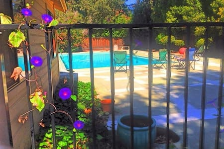 Sunny Pool-House on Private Estate