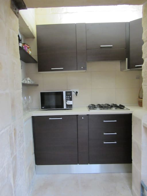 Kitchenette with all necessary appliances